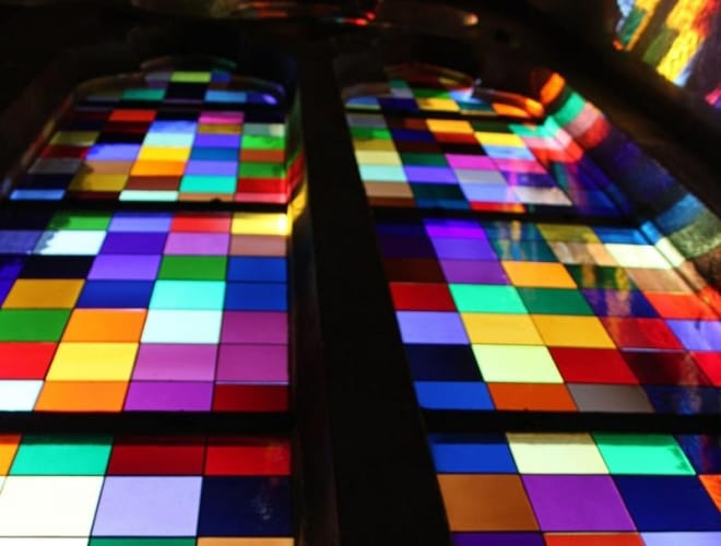 Domführung zu den Fenstern im Kölner Dom - Gerhard Richter Fenster
