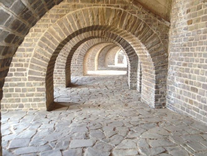 Römischer Bogenbau in Perfektion (Xanten)