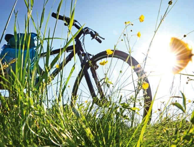 Mit dem Fahrrad durch Köln