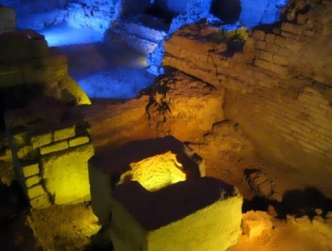 Unterirdische Stadtführung zur römischen Geschichte