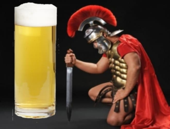 Römer gegen Kölsch - Von Cäsaren und Barbaren