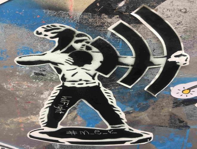 Street Art undBesondere Straßenkunst in Köln