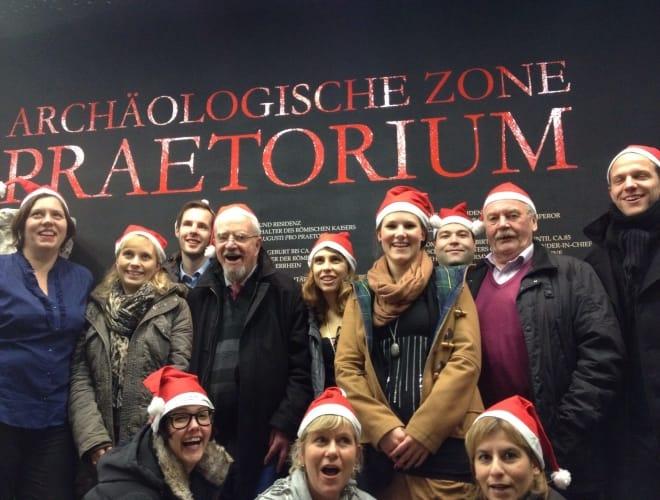 Merry Christmas und Unterweltstour Köln