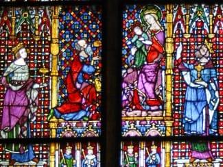 Mittelalterliche Glaskunst im Dom