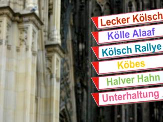 Kölsch Rallye - Mit Spaß durch Köln