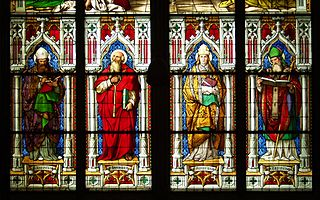 Heilige Pfingsfenster Bayernfenster
