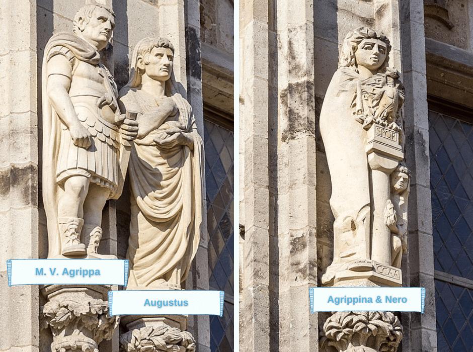 Kölns Stadtgründer Agrippa Augustus Agrippina